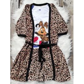 Pijamale 3 piese Minnie Mouse