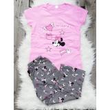 Pijama dama Minnie roz