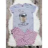 Pijama dama Coffee gri