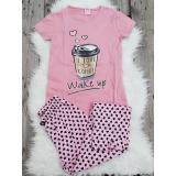 Pijama dama Coffee roz