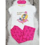 Pijama dama Tom & Jerry alb