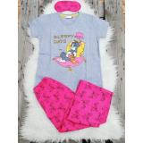 Pijama dama Tom & Jerry gri