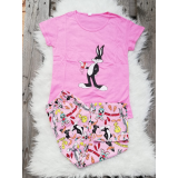 Pijama dama Bugs Bunny roz