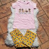 Pijama dama Dogs roz
