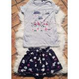 Pijama scurta Moo