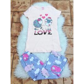 Pijama dama Oite roz