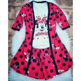 Pijamale 3 piese Minnie