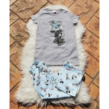 Pijama dama Minnie Bow gri