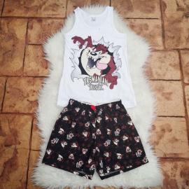 Pijama scurta Minnie bleumarin