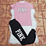 Compleu dama 2 piese Pink Roz