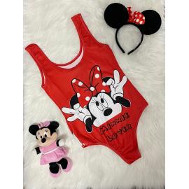 Body dama Minnie Mouse Rosu