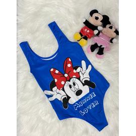 Body dama Minnie Mouse Albastru