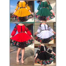 Set rochii Mama-Fiica cu imprimeu floral Sandra