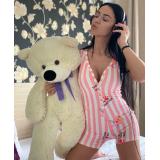 Pijama scurta tip salopeta The Pink Panther