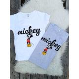 Tricou dama Mickey Logo