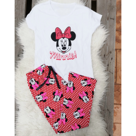 Pijama dama Minnie Dots