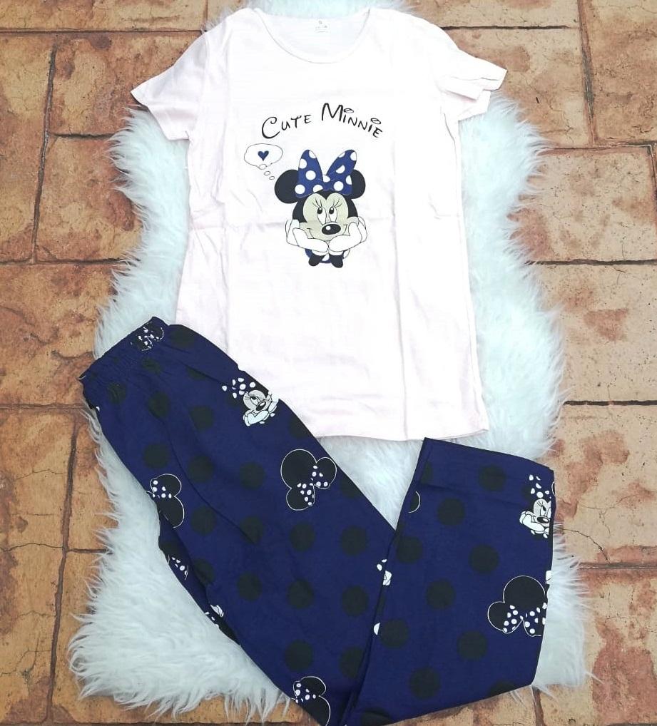Pijama dama Minnie Dream Roz