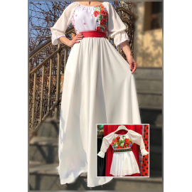 Set rochii Mama-Fiica cu motive Florale Estera