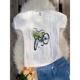 Tricou dama Bicycle