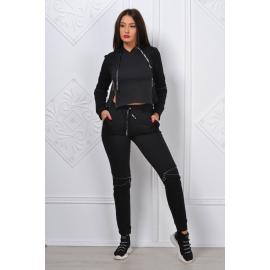 Trening dama Zipper Girl negru