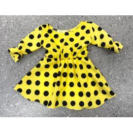 Set rochii scurte mama-fiica cu buline Adnana