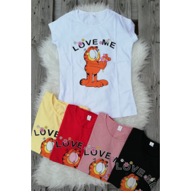 Tricou dama Love Garfield
