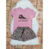 Pijama scurta Just like this roz