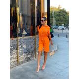 Salopeta scurta Elisabeta portocaliu