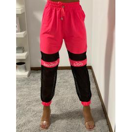 Pantaloni jogger cu plasa Style