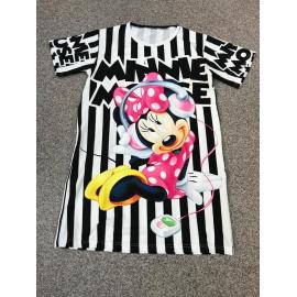 Rochie scurta cu desene Minnie Music