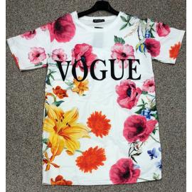Rochie scurta cu print floral Vogue