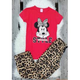 Pijama dama Minnie Style rosu