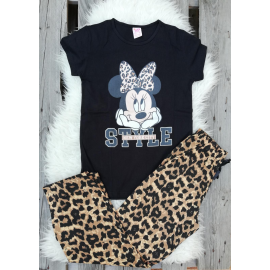 Pijama dama Minnie Style negru