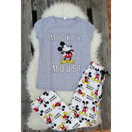 Pijama dama Home Mickey gri
