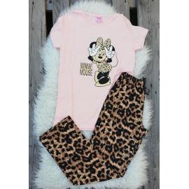 Pijama dama Leopard Cool Minnie roz
