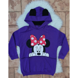 Hanorac oversize Minnie Mouse