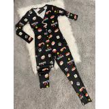 Pijama dama tip salopeta Sushi