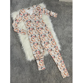 Pijama dama tip salopeta Breakfast