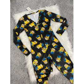 Pijama dama tip salopeta Minions