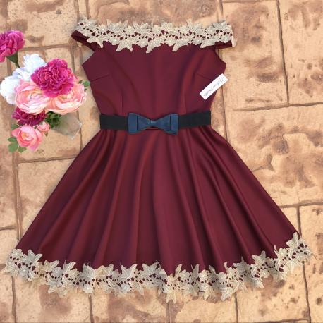 Rochie clos  Blossom Red
