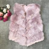 Vesta de blana scurta Elsa roz