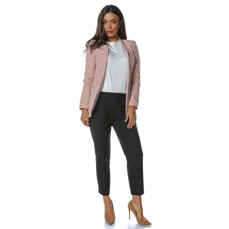 Sacou casual chic lung pana in talie Maria