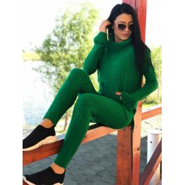 Trening tricot gros Ice verde
