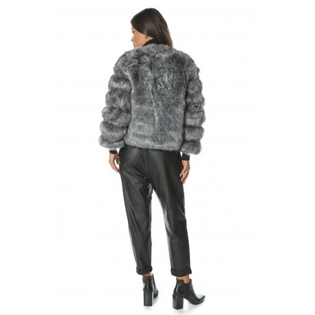 Jacheta de blana Reflection gri